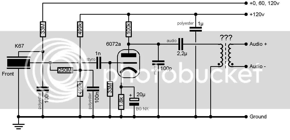 6072a Tube Microphone Design (C12 & ElaM inspired)
