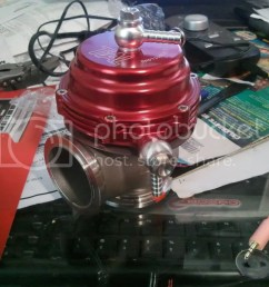 does anybody have a vacuum diagram for the tial 44mm wastegate with stock boost solenoid and also am i placing the fitting in the right place one on the  [ 1024 x 768 Pixel ]