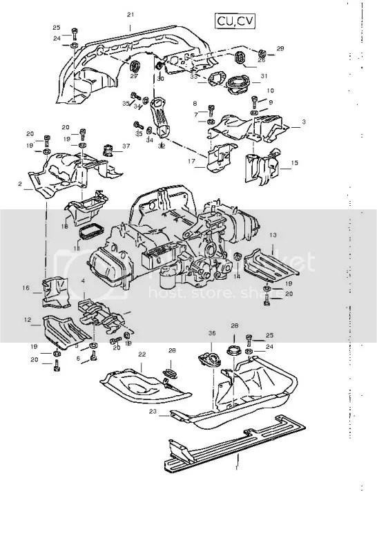 Vw Bus Engine Tin Kit, Vw, Free Engine Image For User