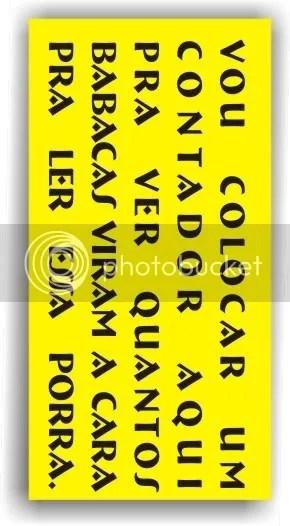 Copie o código abaixo e cole no Orkut