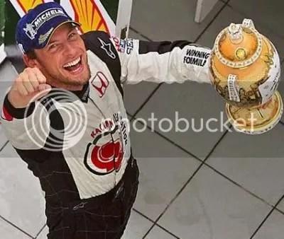 Jenson Button behaalde zeer verdiend zijn allereerste overwinning!!!
