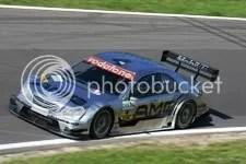 Jean Alesi, richting Audi S, vrijdagmiddag