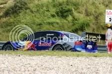 Mattias Ekstrxf6m, gridformatie voor de race