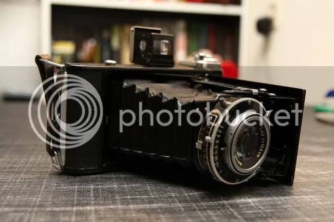 Vijf klassieke camera's te koop (1/5)