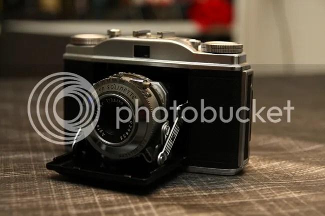 Vijf klassieke camera's te koop (3/5)