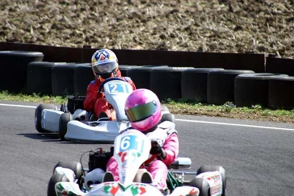 Chasing Jade on Saturday at Kimbolton
