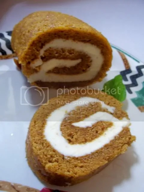 Do the pumpkin roll...
