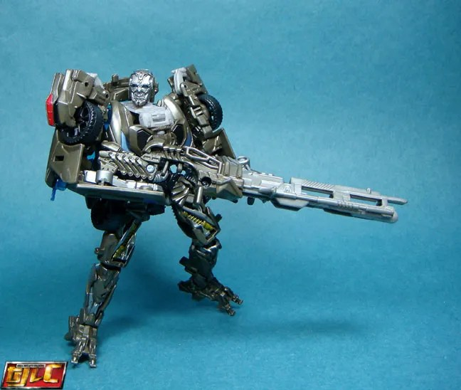 Transformers Lockdown Face Gun