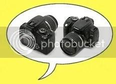 Welnee, niet twee camera's! Gewoon de voor- en achterkant! :P