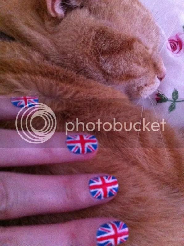 TARDIS nails and Arthur