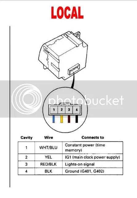 Jdm auto climate control/jdm clock/ambient temp sensor