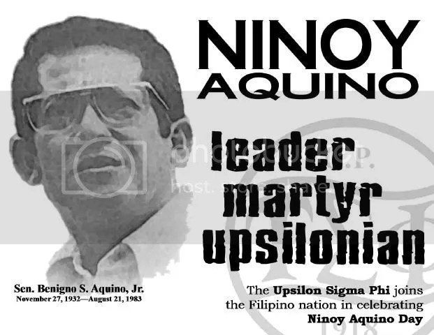 the filipino is worth dying for by ninoy aquino essay The supreme sacrifice of ninoy presented philippine society with a  who  believed in our people: that indeed, the filipino was worth dying for.