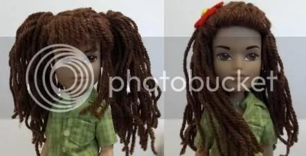 "BJD/'S /""Tori/"" Wig Sizes 5-6,7-8,8-9 Boneka Little Darling"