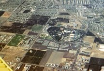 Gorillas Aerial View September 1961