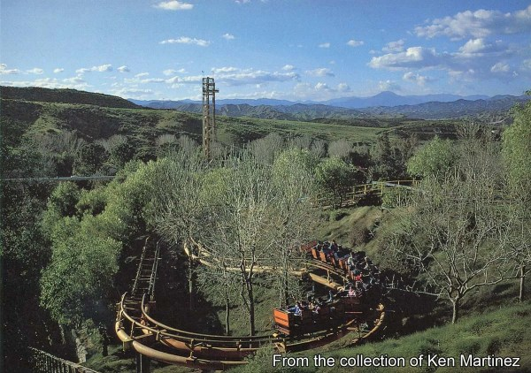 GORILLAS DON39T BLOG Vintage Magic Mountain Postcards