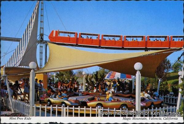 GORILLAS DON39T BLOG Vintage Postcards Six Flags Magic