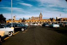 Old Disneyland Entrance Parking Lot