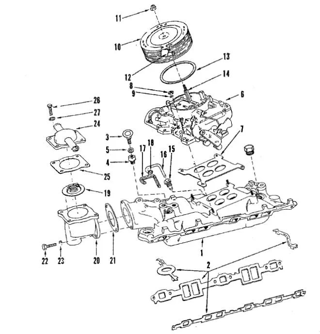 Chris Craft Boat Engines Diagram. Parts. Auto Parts