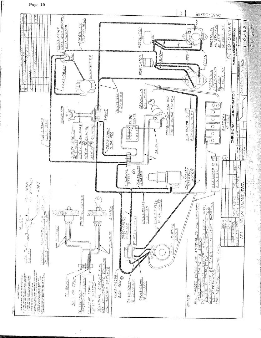 Chris Craft Commander Wiring Schematics : 39 Wiring