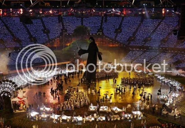 Abertura das Olimpíadas 2012