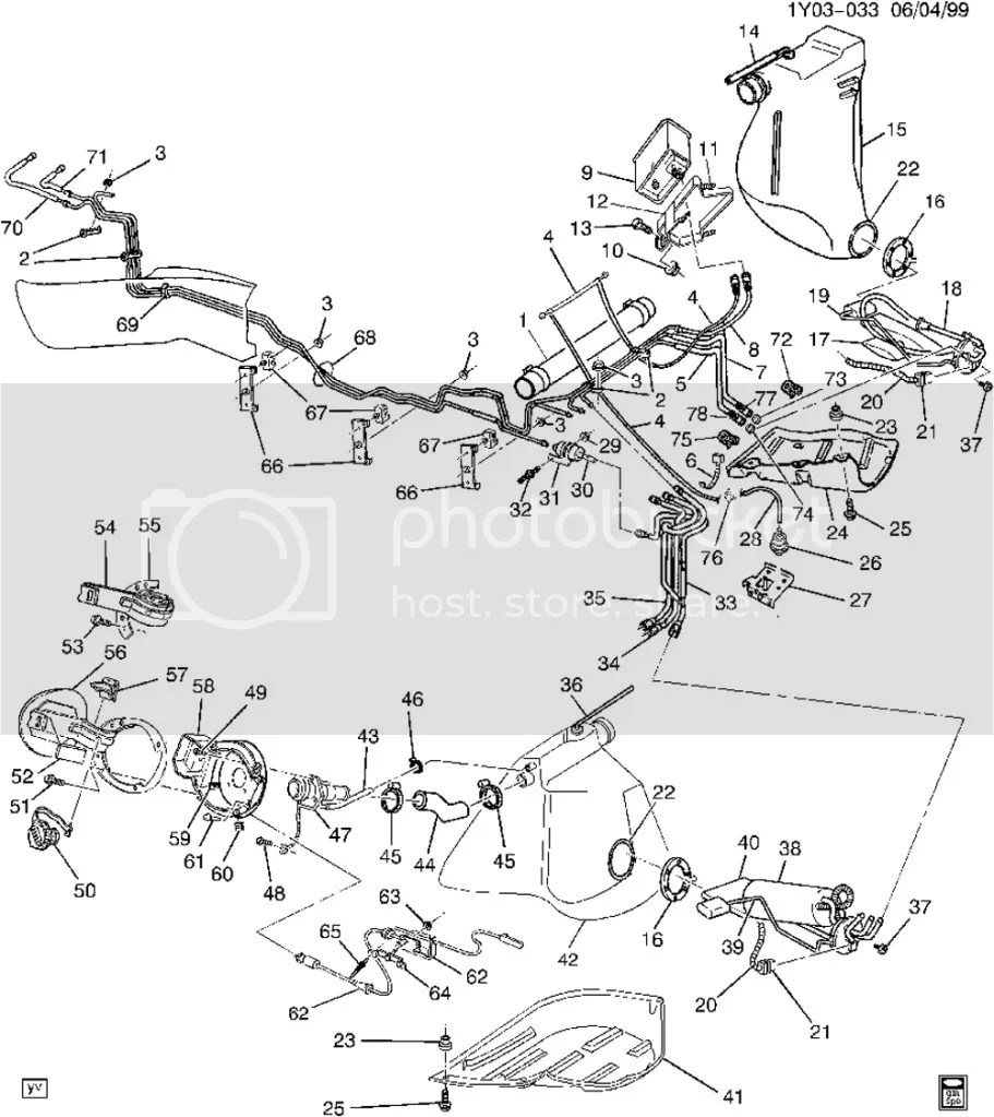 Anyone have a 1997-1998 Fuel system diagram swapping from