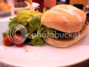 Ribeye Steak Burger with Avacado & Wasabi