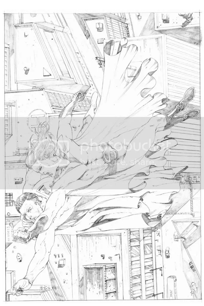 Using Sketchup for comic book illustration