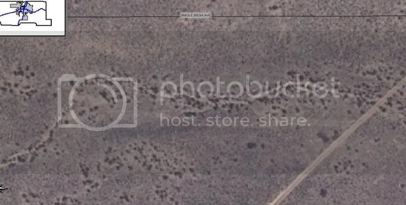 West Mesa Serial Killer Satellite Image