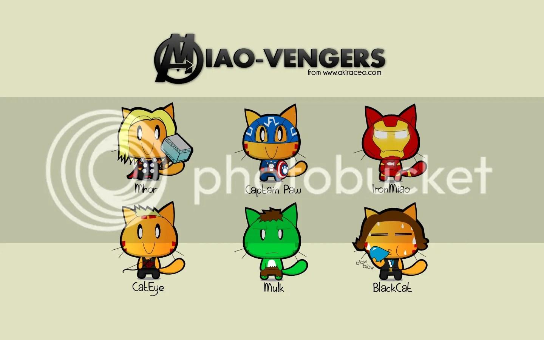 Cute Cat Images For Wallpaper Miao Amp Wafupafu Comic Blog 187 Wallpapers Miao In Avengers