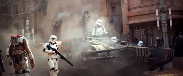 Image result for rogue one hovertank