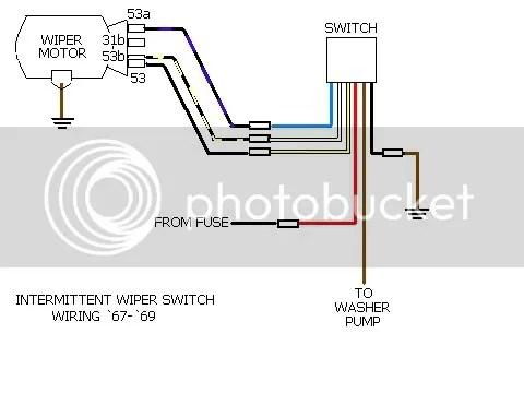 How to wire generic 2speed wiper switch?  Shoptalkforums