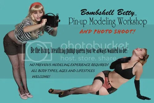 Bombshell Betty Pinup Workshop