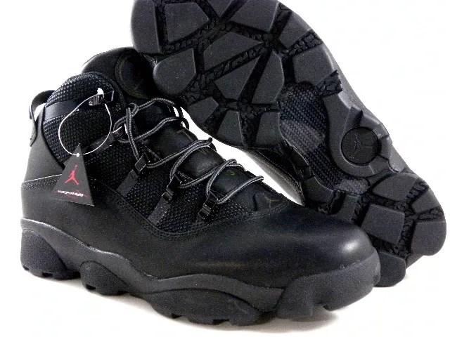 baecfb8363856 New Nike Air Jordan 6 Rings Winterized Black Rustic Brown