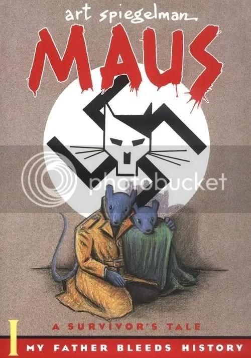 Volume one of Maus by Art Spiegelman