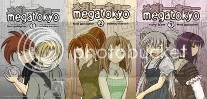 MegaTokyo Vols. 1-3
