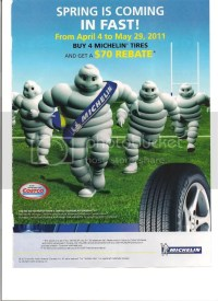 Tire Rebates 2011 Spring Season