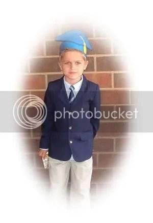 Charlie's Kindergarten Grad
