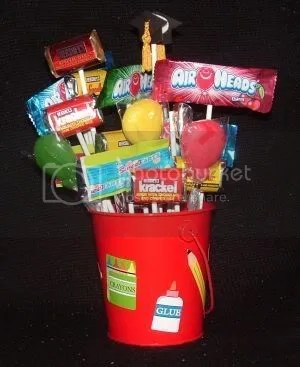 Charlie's candy bouquet