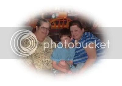 Mom, me, and Noah