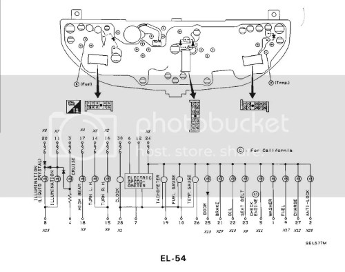 small resolution of 1991 nissan 240sx instrument wiring wiring diagram for professional u2022 s13 radio wiring diagram 1990 240sx engine wiring diagram