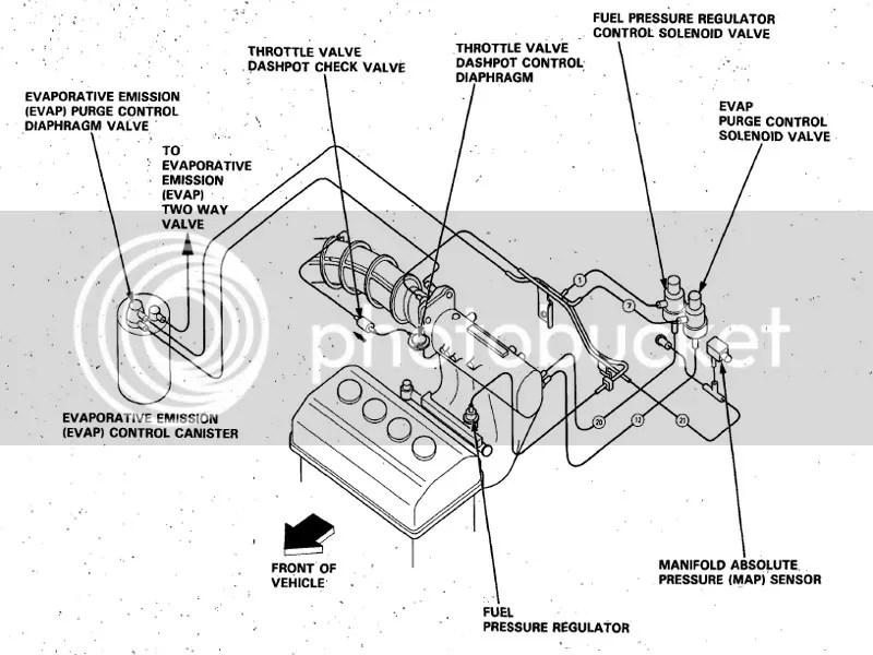 Honda Vacuum Diagram