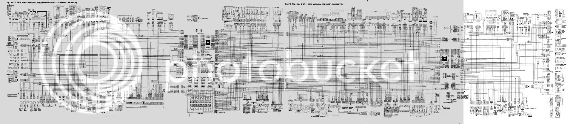 r33 gtst ecu wiring diagram excel swim lane template editable r32 gtr great installation of additionally nissan skyline 4age 16v corolla