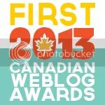 2013 Canadian Weblog Awards winner