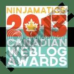 2013 Canadian Weblog Awards nominee