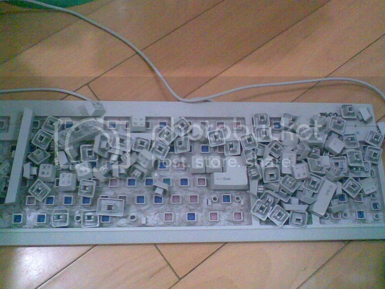 教你如何洗鍵盤 - 電腦及資訊科技與產品 - hkitalk.net 香港交通資訊網 - Powered by Discuz!