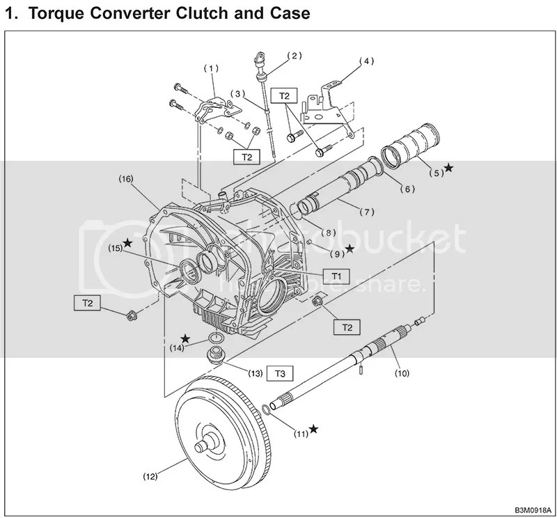 Service manual [Remove 2011 Subaru Tribeca Torque