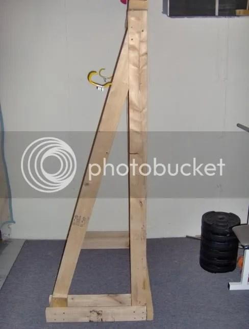 homemade squat rack bodybuilding