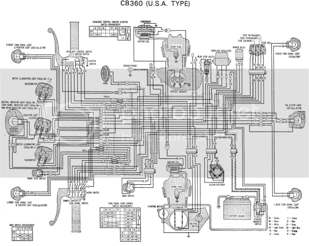 medium resolution of 1974 honda xl70 wiring diagram 1974 honda cb175 wiring 1974 honda cb360 wiring diagram honda cb400f wiring diagram