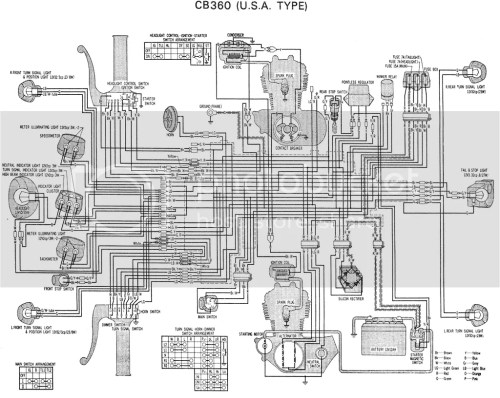 small resolution of 1974 honda xl70 wiring diagram 1974 honda cb175 wiring rectifier wiring diagram basic motorcycle wiring