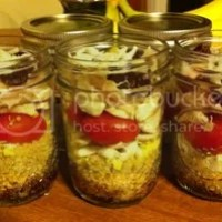 Balsamic Quinoa Salad in a Jar